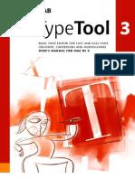 TypeTool 3 Manual