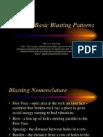Basic Blasting PatternsBasic Blasting Patters