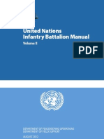 UN Infantry Battalion Manual .Vol