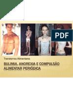 Bulimia, anorexia e compulsão alimentar periódica