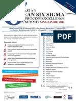 Six Sigma Summit 2011_9dec  Event Nadeem