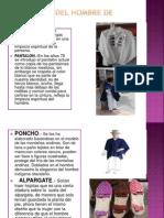 Vestimenta Del Hombre de Otavalo