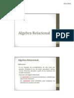 7. Algebra Relacional