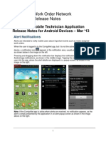 Android Update - March 2013