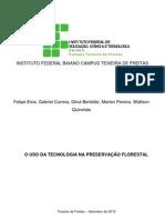 Informática - O uso da tecnologia na preservação florestal (1)