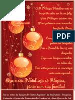 Cartão Natal CRR
