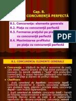 Cap 8 Micro Concurenta Perfecta