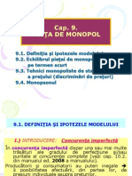Cap 9-Micro-piata de Monopol