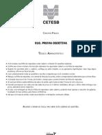 Cetesb Tecnico Prova