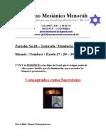 Parasha No.20 Tetzaveh Consagrados Como Sacerdotes