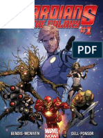 Guardians of the Galaxy Exclusive Preview