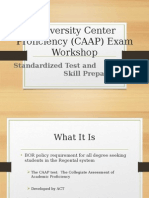 Proficiency Workshop Presentation