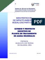 Analisis Proyecto PTAR