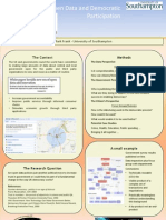 Government Open Data and Democratic Participation by Mark  Frank