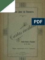 Cartas Inéditas - José de Anchieta