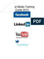 Social Media Training Guide(Brief)