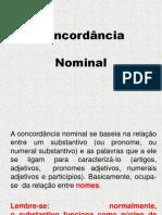 Concordancia Nominal