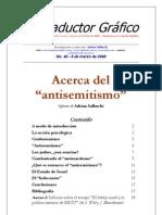 Acerca Del Antisemitismo Informe Adrian Salbuchi