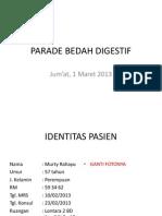 Parade Bedah Digestif (Murny Rahayu)
