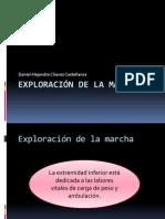 Exploración de la marcha