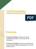 Unidad-5.2-Evaluacion y Desviaciones de Presupuesto