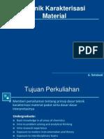 Bab 1 Pengantar Karakterisasi Material