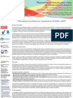Información de los Diplomados en DDHH de AUSJAL e IIDH en América Latina.