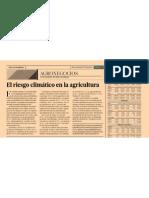 2013-02-15 El Riesgo Climatico en La Agricultura