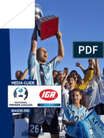 IGA NSW National Premier Leagues Media Guide