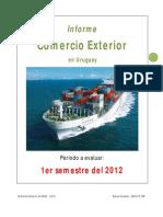 Informe de Comercio Exterior 1er Semestre 2012 Por Daniel Curbelo