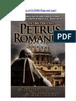 """""""Petrus Romanus"""