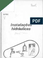 ENCOL - 24 - Instalações Hidráulicas - Manual de Inst 84p