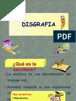 5º CLASE La DISGRAFIA