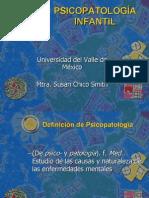 Clase 1 Teorías en Psicopatología Infantil