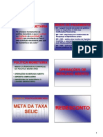 Carlosarthur Conhecimentosbancarios Completo 069 Politica Monetaria