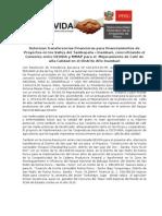 Nota de Prensa - Convenio MMAP -DEVIDA - Erc.doc