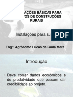 Informações básicas para projetos