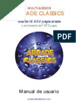 Manual Multijuegos Arcade Classics