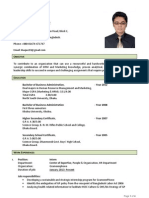 Resume of Izazul Haque