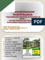 ADMINISTRACION HOSPITALARIA