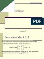 Bab 4 Determinan