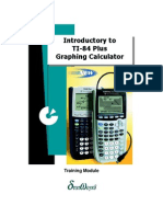Introductory to TI-84 Plus Graphing Calculator