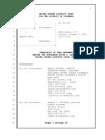 US vs Choi transcript 2011-10-07 Mandamus