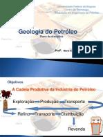 Geologia do Petróleo A - apresentação do plano de curso