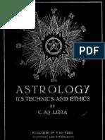 6736216 Astrology Its Technics and Ethics