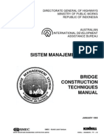 Bridge Construction Techniques Manual