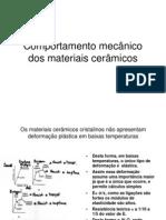 Comportamento Mec%E2nico Dos Materiais Cer%E2micos