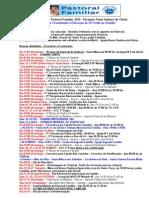Agenda Da Pastoral Familiar Ano 2013