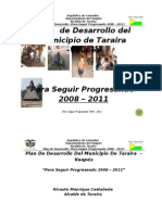 Plan de Desarrollotaraira Definitivo 2008 - 2011 (Corregido)