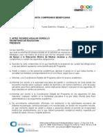Anexo 4.-Carta Compromiso Beneficiaria